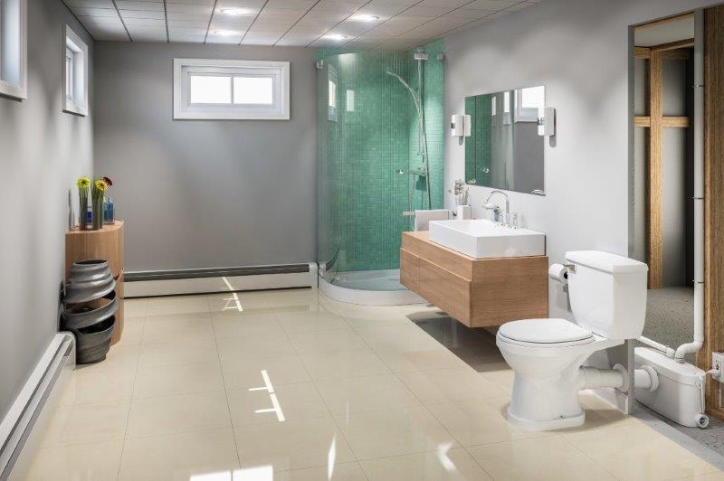 construir banheiro ou cozinha em locais com lençol freático alto